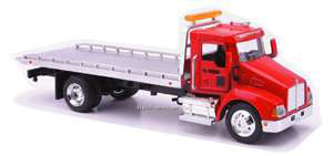 flat bed towing truck